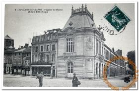Façades du Musée et de la Bibliothèque