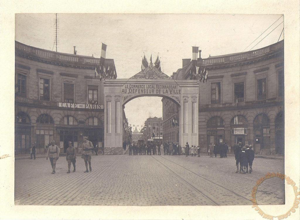 14/09/1919 Venue du Général Gouraud