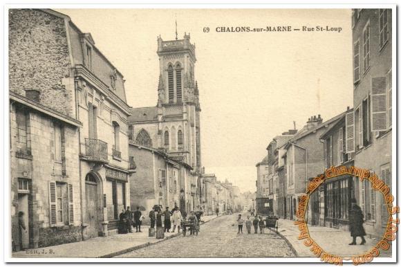 Rue St Loup