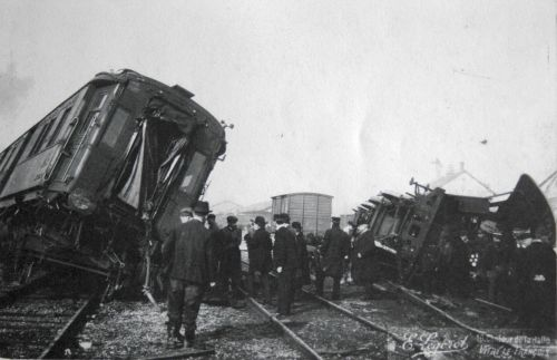 Accident du train