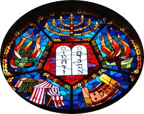 Cinq épisodes importants de l'histoire des Hébreux