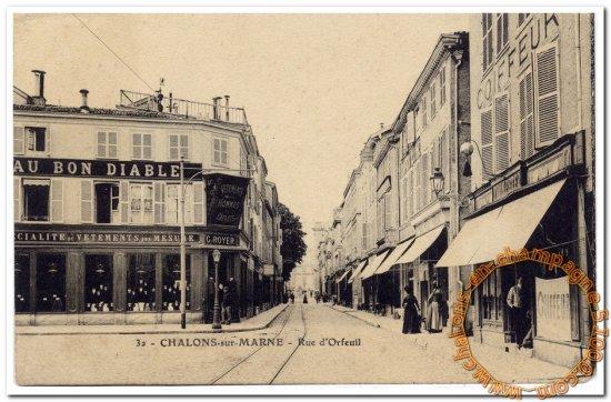 Rue d'Orfeuil