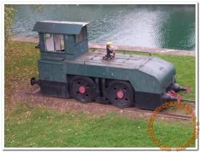 Un tracteur Jeumont conservé (rare), mais pas à Châlons