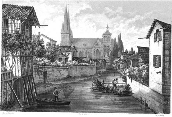 Vue prise du Pont Croix des Teinturiers